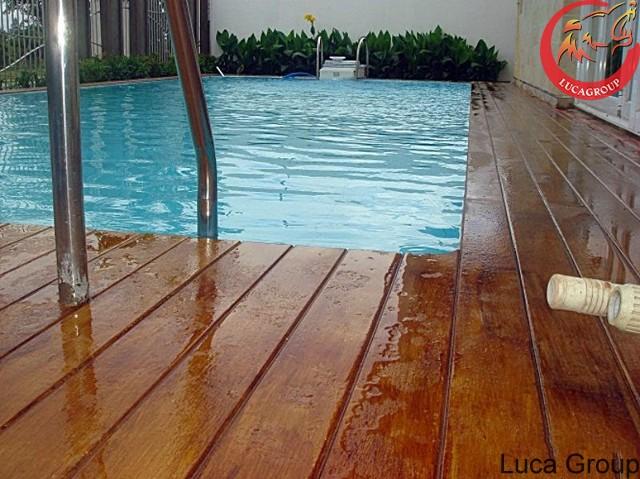 Phân phối sàn gỗ nhân tạo ngoài trời tại Nghệ An