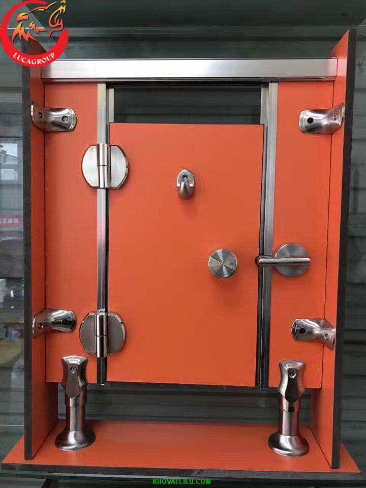 Tấm compact HPL màu cam