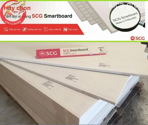 Tấm Smartboard SCG Thái Lan Làm Sàn, Trần Vách Ngăn Giá Tốt